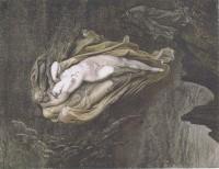 GUSTAVE DORE', Paolo and Francesca da Rimini, XIX sec