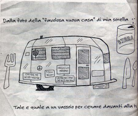 Illustrazione di Ellen Forney da Diario assolutamente sincero di un indiano part-time